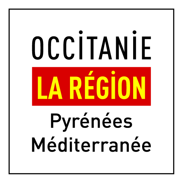 Occitanie logo - version  carrée Couleur