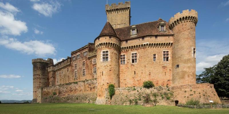 ©Pascal Lemaître : Château de Castelnau-Bretenoux